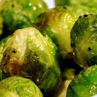 Stir-Fried Brussels Sprouts With Mustard